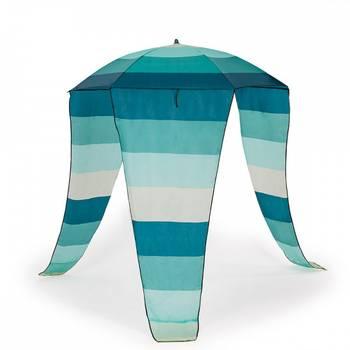 Maui extra 2 transats chaises pliables parasol jardin plage vert