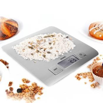 Duronic KS1009 Balance de cuisine numérique compacte très fine - 5 kg