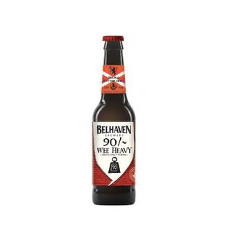 Biere - belhaven craft 90/ wee heavy 0,33l