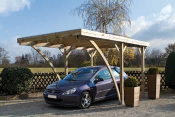 Carport pour voiture autoclave Milano uno