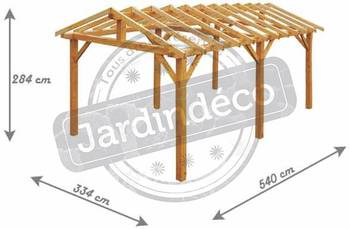 Structure autoportante extérieure Vercors Non traité