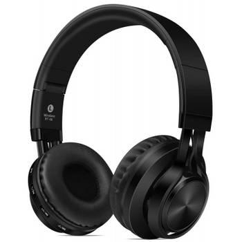 Casque Bluetooth Microphone intégré sans fil Noir
