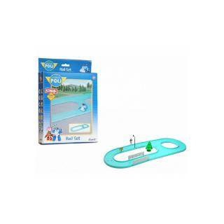 Robocar Poli Set de 10 rails