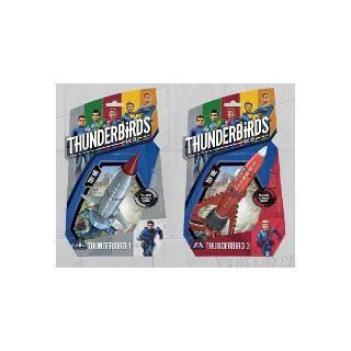 Vehicules thunderbirds 1 et 3 asst