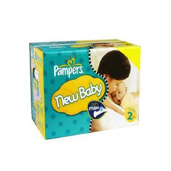 Pack d'une quantité de 240 couches de pampers new baby taille 2