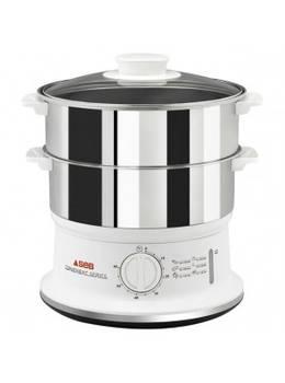 SEB cuiseur vapeur 2 Bols Convenient Inox 6 Litres VC1451-00