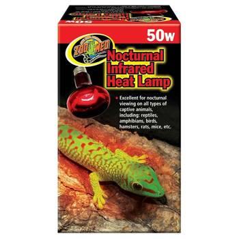 Lampe chauffante infrarouge repti infrared pour terrarium - zoomed - 50w