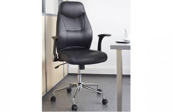 """Chaise de bureau Dactylo """"Brontes""""  - Noir"""