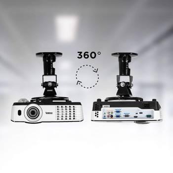 Duronic pb01xb support articulé vidéoprojecteur
