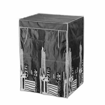 Housse armoire loft en polyester noir