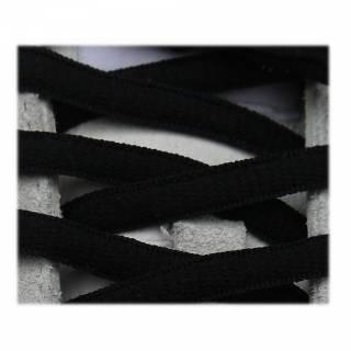 Lacets sport ovale 125cm haute qualité noir NEON