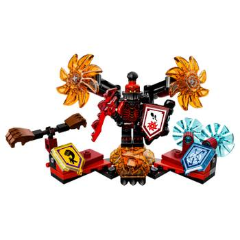 70338 general magmar ultime chevalier, lego(r) nexo knights