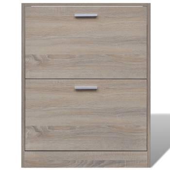 Meuble armoire à chaussure bois tiroirs 12 paires 2002041 Helloshop26