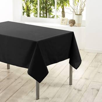 Nappe rectangle polyester Noir 140 x 250 cm