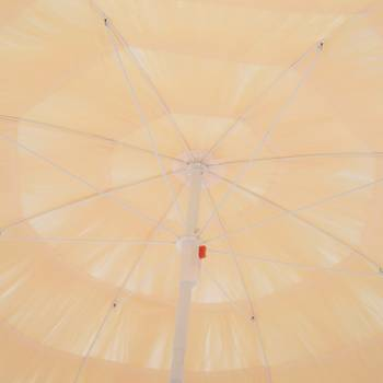 Parasol design Hawaï beige