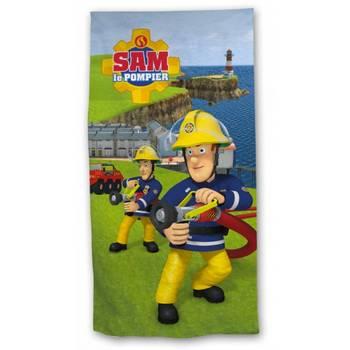 70x140 cm Fireman sam Sam le Pompier Serviette de plage Drap de plage en microfibre