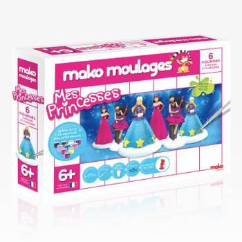 Moulage en plâtre mako moulages : mes princesses