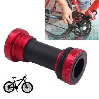 Boitier de pédalier vélo rouge pour shimano vtt bb91 bottom bracket convient 68-73mm