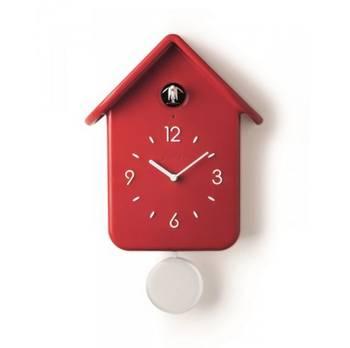 Horloge à coucou 30cm rouge - guzzini - 16860255