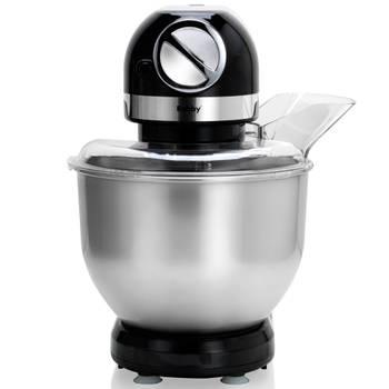 robot multifonctions 5l 1000w noir avec hachoir et blender 1,5l en verre - robby - robimix noir