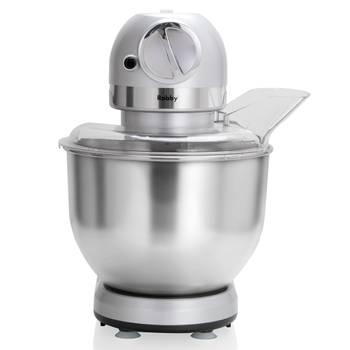 robot multifonctions 5l 1000w silver avec hachoir et blender 1,5l en verre - robby - robimix silver