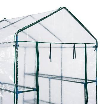 serre de jardin 4 étagères 143L x 143l x 195H cm