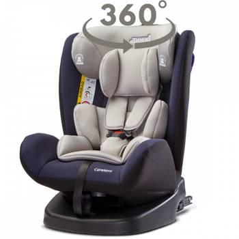 Mokki siège auto pivotant isofix 0/36 kg groupe 0123      bleu