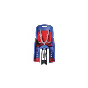 Siège de vélo bébé & enfant fixation sur porte-bagages      Bleu
