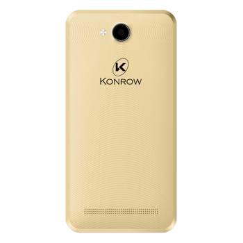 Konrow Coolsense - Android 6.0 - Ecran 4.5'' - 8Go - Double Sim - Or