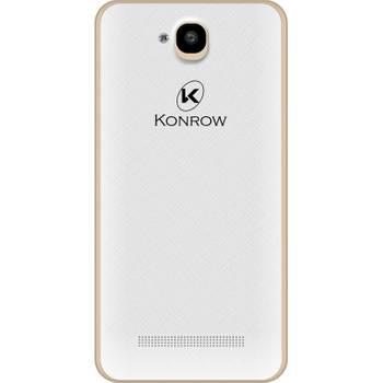 Konrow Easy Touch - Smartphone Android 4G LTE - Ecran 4.5'' - Double Sim - 8Go, 1Go RAM - Or