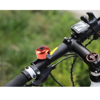 5 mini anneau de bicyclette d'alliage d'aluminium de pcs, livraison aléatoire de couleur