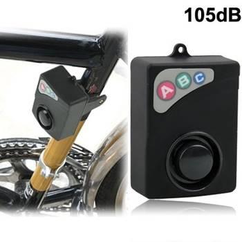 Alarme de vélo 105db jx-612