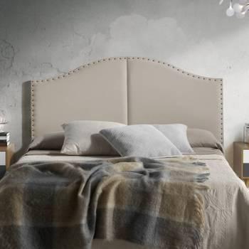 Tête de lit lyon 160x95 taupe