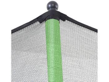 """Trampoline """" Yoopi """" - Ø 3.65 m - avec filet + échelle + couverture + kit d'ancrage"""