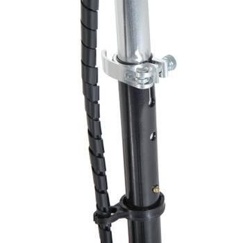 Trottinette électrique 120 w noir et argent