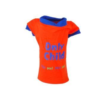 T-shirt pour chien Only Child - Taille L - Orange