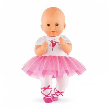 Combinaison Ballerine Fushia pour bébé 30cm