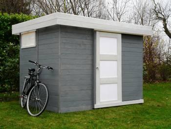 Abri jardin bois \lund\ - 6.69 m² - 3.03 x 2.21 x 2.07 m - 19 mm