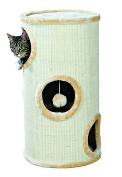 Griffoir en sisal cat tower beige trixie