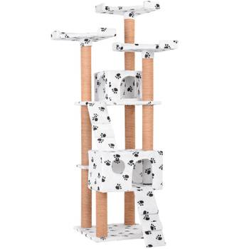 Maxi arbre à chats avec plateformes et niches 171 cm