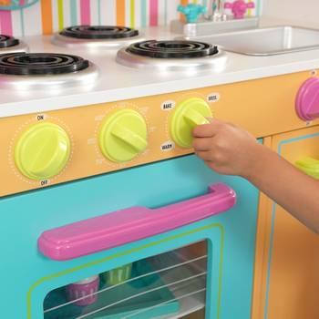 Grande cuisine colorée pour enfant