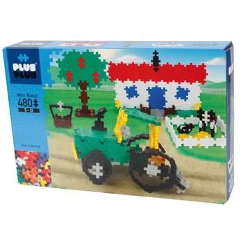 Jeu de construction : Plus Plus Box Mini Basic 480 pièces - La Ferme