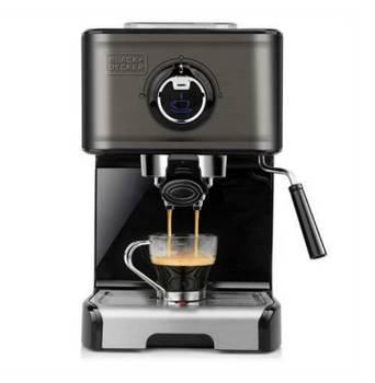 machine à expresso 15 bars gris - black & decker - bxco1200e
