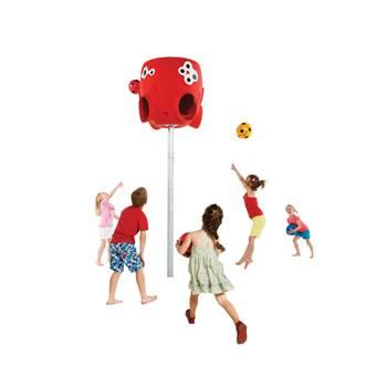 Panier de ballon Octopus Rouge pour Collectivités