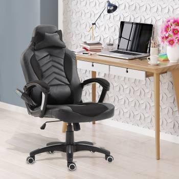 gamer bureau fonction massagechauffage de Fauteuilchaise TclK3Ju1F
