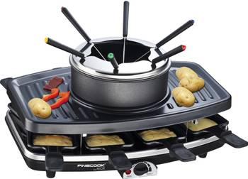 Raclette + fondue + grill party