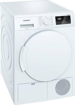 sèche-linge à condensation 60cm 7kg b blanc - siemens - wt43n200ff