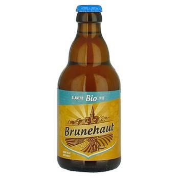 BRUNEHAUT BLANCHE 33CL Pack de 24 bouteilles