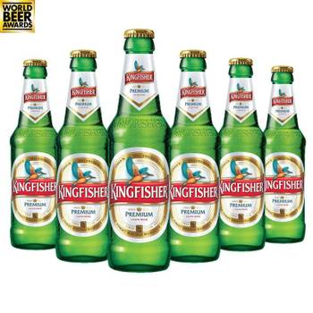 BIERE - KINGFISHER 6*33CL