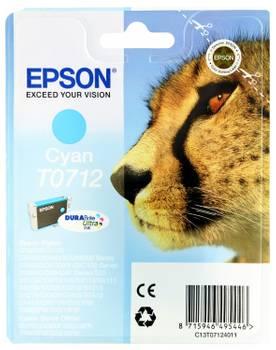 Encre d'origine pour EPSON Stylus D78/DX4000/DX4050, cyan EPSON